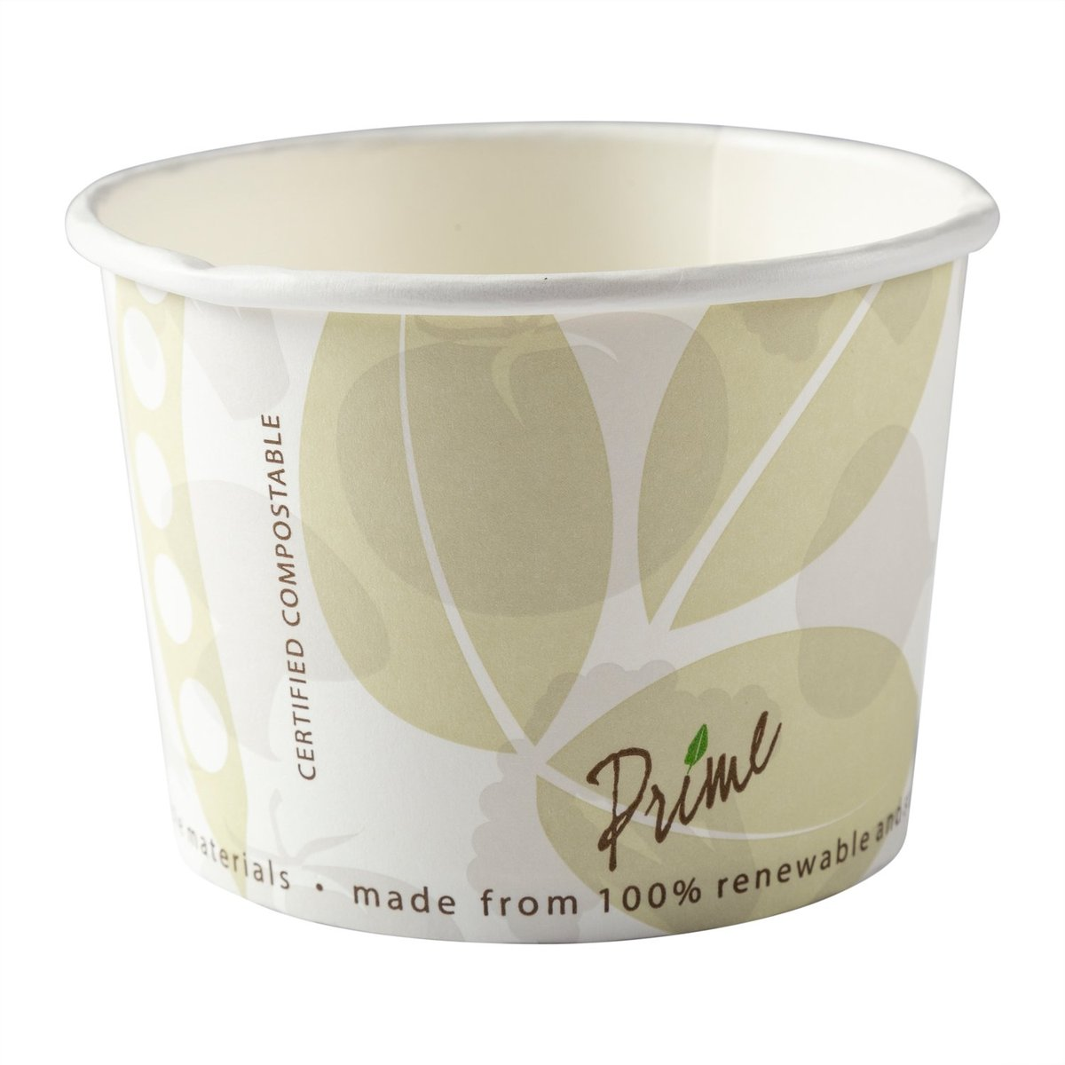 16OZ PLA FOOD CONTAINER  COMPOSTABLE 500/CASE