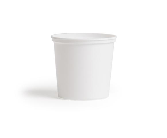 131B 26oz PLASTIPAK DELI TUB WHITE 440/CASE
